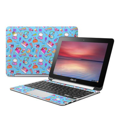 Asus Flip Chromebook Skin - Lookin Pretty