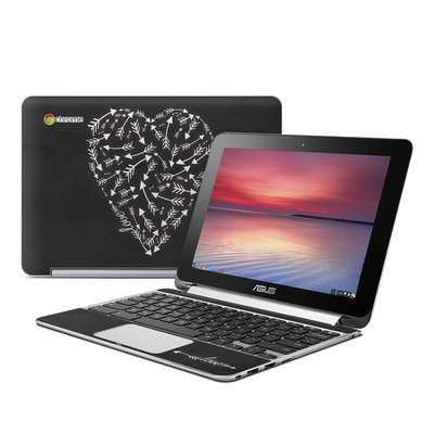 Asus Flip Chromebook Skin - Love Me Not