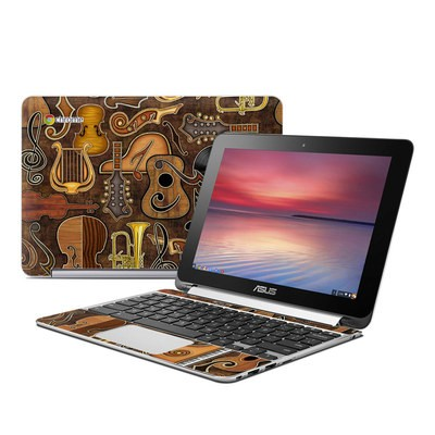 Asus Flip Chromebook Skin - Music Elements