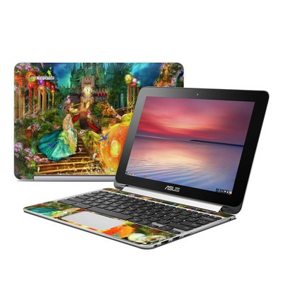 Asus Flip Chromebook Skin - Midnight Fairytale