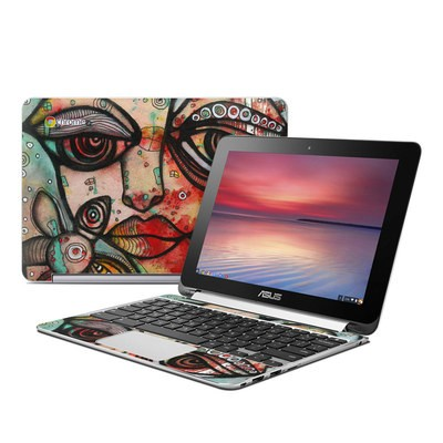 Asus Flip Chromebook Skin - Mine