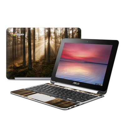 Asus Flip Chromebook Skin - Misty Trail