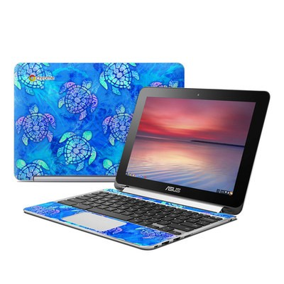 Asus Flip Chromebook Skin - Mother Earth