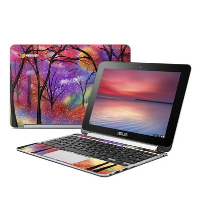 Asus Flip Chromebook Skin - Moon Meadow