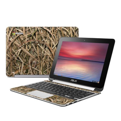 Asus Flip Chromebook Skin - Shadow Grass Blades