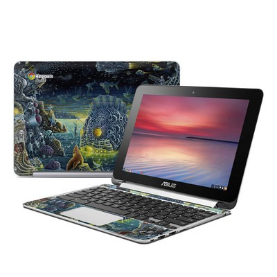 Asus Flip Chromebook Skin - Night Trawlers