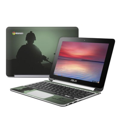 Asus Flip Chromebook Skin - Night Vision