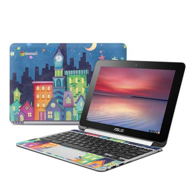 Asus Flip Chromebook Skin - Our Town