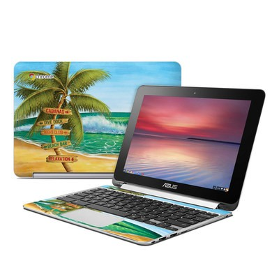 Asus Flip Chromebook Skin - Palm Signs