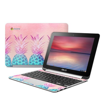 Asus Flip Chromebook Skin - Pineapple Farm