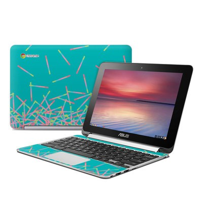 Asus Flip Chromebook Skin - Pop Rocks Wands