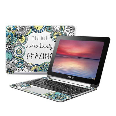 Asus Flip Chromebook Skin - You Are Ridic