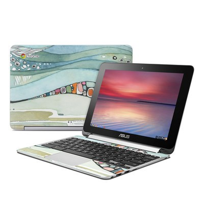 Asus Flip Chromebook Skin - Sea of Love
