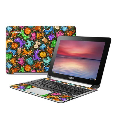 Asus Flip Chromebook Skin - Sew Catty