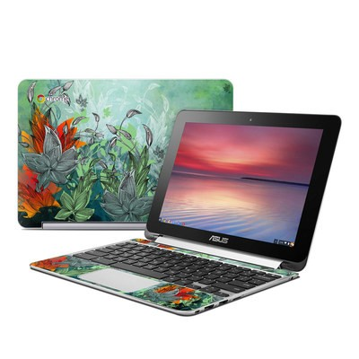 Asus Flip Chromebook Skin - Sea Flora