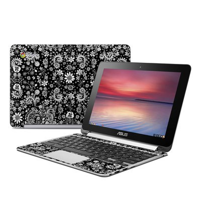 Asus Flip Chromebook Skin - Shaded Daisy