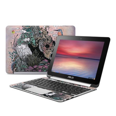 Asus Flip Chromebook Skin - Sleeping Giant