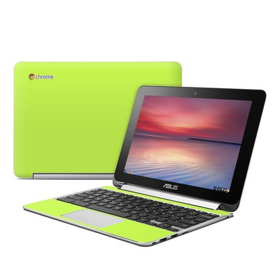 Asus Flip Chromebook Skin - Solid State Lime