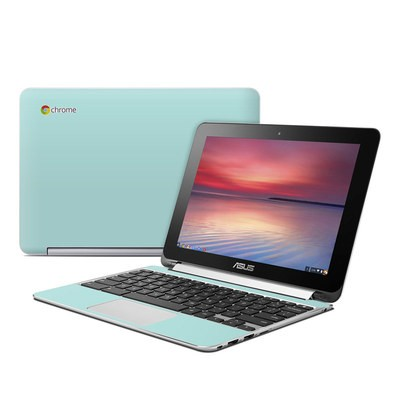 Asus Flip Chromebook Skin - Solid State Mint