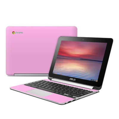 Asus Flip Chromebook Skin - Solid State Pink