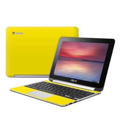 Asus Flip Chromebook Skin - Solid State Yellow
