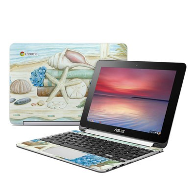 Asus Flip Chromebook Skin - Stories of the Sea