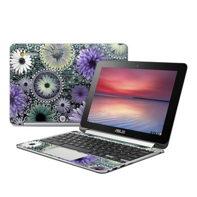 Asus Flip Chromebook Skin - Tidal Bloom