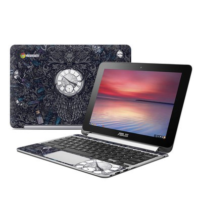 Asus Flip Chromebook Skin - Time Travel