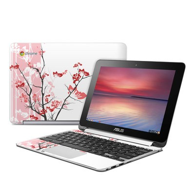 Asus Flip Chromebook Skin - Pink Tranquility