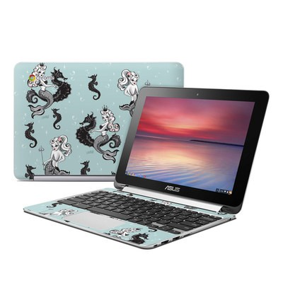 Asus Flip Chromebook Skin - Vintage Mermaid