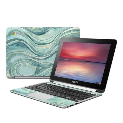 Asus Flip Chromebook Skin - Waves