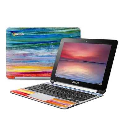 Asus Flip Chromebook Skin - Waterfall