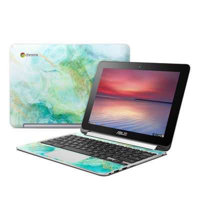 Asus Flip Chromebook Skin - Winter Marble