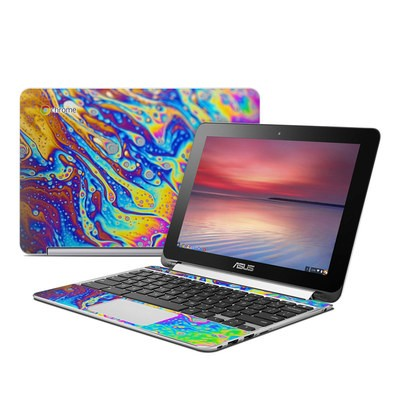 Asus Flip Chromebook Skin - World of Soap