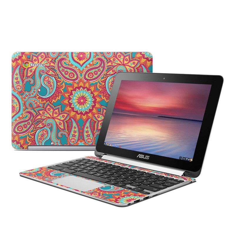 Asus Flip Chromebook Skin - Carnival - 155.4KB