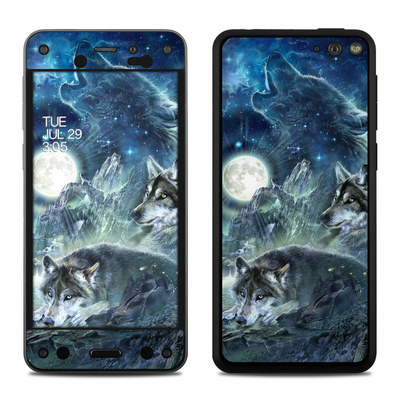 Amazon Fire Phone Skin - Bark At The Moon