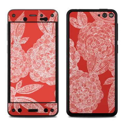 Amazon Fire Phone Skin - Red Dahlias