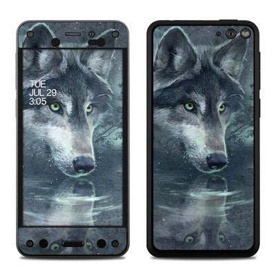 Amazon Fire Phone Skin - Wolf Reflection