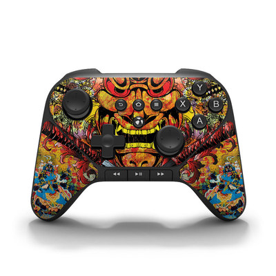 Amazon Fire Game Controller Skin - Asian Crest