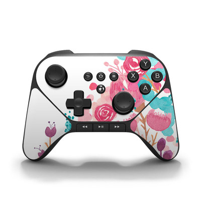 Amazon Fire Game Controller Skin - Blush Blossoms