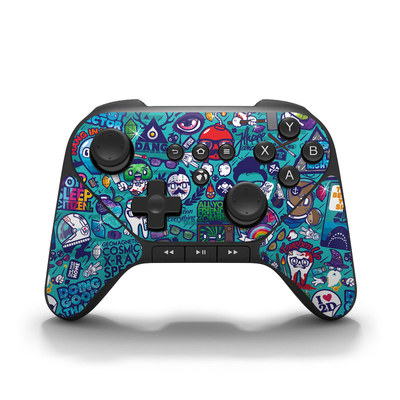 Amazon Fire Game Controller Skin - Cosmic Ray