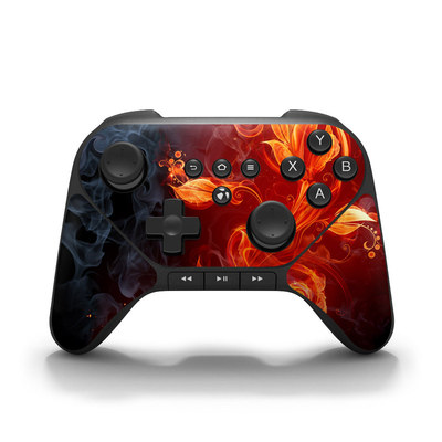 Amazon Fire Game Controller Skin - Flower Of Fire