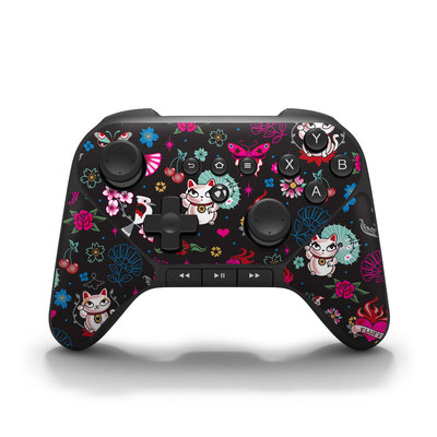 Amazon Fire Game Controller Skin - Geisha Kitty