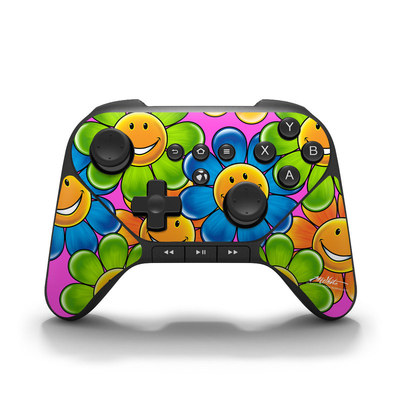 Amazon Fire Game Controller Skin - Happy Daisies