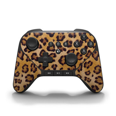 Amazon Fire Game Controller Skin - Leopard Spots