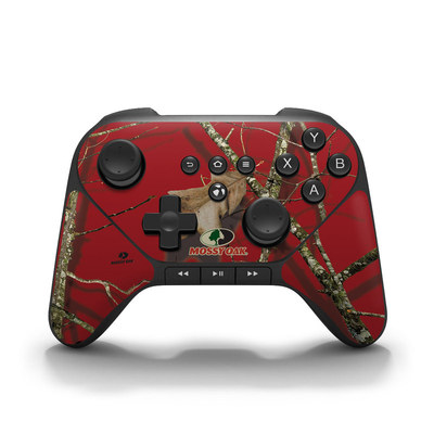 Amazon Fire Game Controller Skin - Break-Up Lifestyles Red Oak