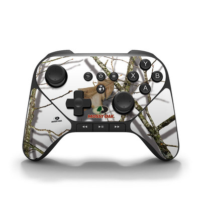 Amazon Fire Game Controller Skin - Break-Up Lifestyles Snow Drift