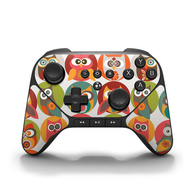 Amazon Fire Game Controller Skin - Owls Family
