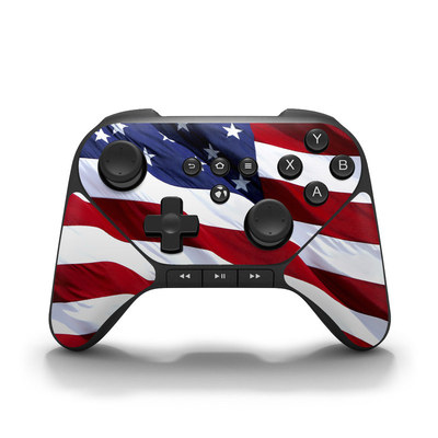 Amazon Fire Game Controller Skin - Patriotic