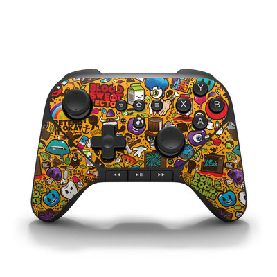 Amazon Fire Game Controller Skin - Psychedelic